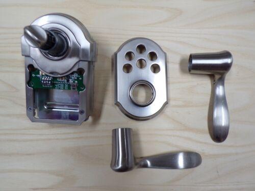 Kwikset 911 Electronic Keypad Smart Lock--Satin Nickel--
