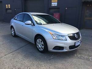 2011 Holden Cruze Sedan JH SeriesII AUTO LOW KMS REG RWC CHEAP West Footscray Maribyrnong Area Preview