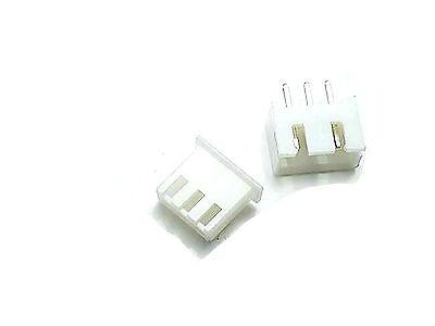 Us Stock 50set Xh2.54-3p Connector Kits 2.54mm Pin Header Housing Terminal