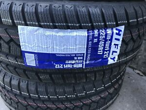 BRAND NEW 225/45R17 HIFLY Winter Tires - Delivery - Installation