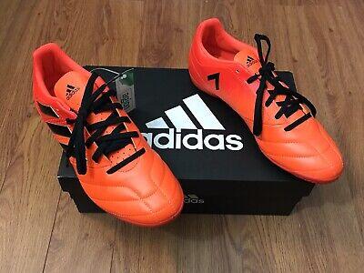 66ed982e8 ACE 17.4 in Sorang/CBlack/SolRed S77101 Men's Indoor/Turf Soccer Shoes Size  7.5
