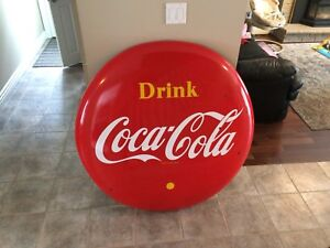 WANTED TO BUY: Coca Cola porcelain Button signs
