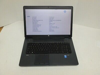 ZBOOK 17 G2 QUAD CORE I7-410MQ 2.5GHZ/16GB/512GBSSD/1TBHDD