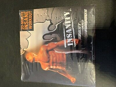 BN AND SEALED INSANITY 20 MINUTE INSANE WORKOUT DVD - FAST AND FURIOUS