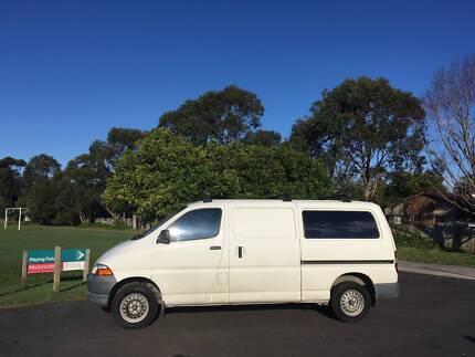 fa6863993d 2001 Toyota Hiace SBV Long Wheel Base Campervan