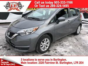 2017 Nissan Versa Note SV, Auto, Heated Seats, Back Up Camera,