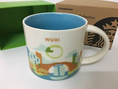 Starbucks 2017 China Yah Wuxi You Are Here Mug