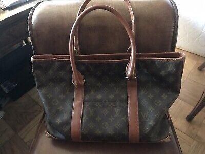 Vintage Louis Vuitton Monogram Tote Handbag