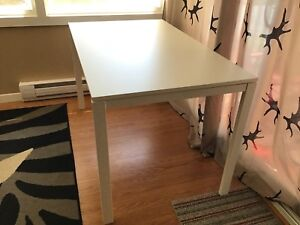 White Ikea Melltorp Table or Desk - Terrific Used Condition
