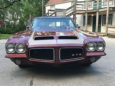 1971 Pontiac Gto  1971 Pontiac Gto 400 4 Spd  Restored  Numbers Matching  Documented  No Reserve