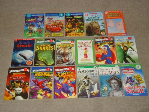Lot 20 Level 2 Step Into Reading I Can Read DK Reader Home School Scholastic