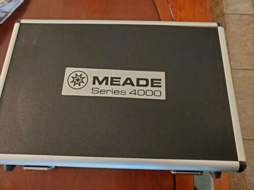 "Meade Series 4000 Telescope lens,  1.25"" Eyepiece,  and filter set"