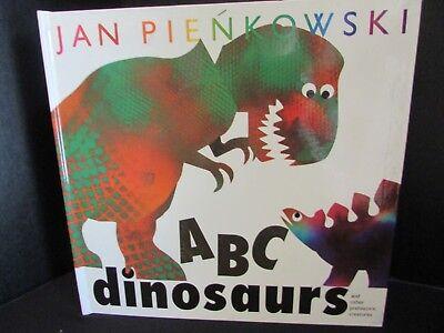 ABC Dinosaurs Childrens POP UP BOOK Prehistoric Creatures Jan Pienkowski