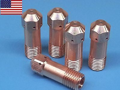 5pc X 0558001969 Electrodes For Esab Pt-32 Pt32eh Plasma Cutter Us Ship