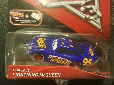 DISNEY PIXAR CARS 3 WITH CARD AND POSTER FABULOUS LIGHTNING MCQUEEN SAVE 6% GMC