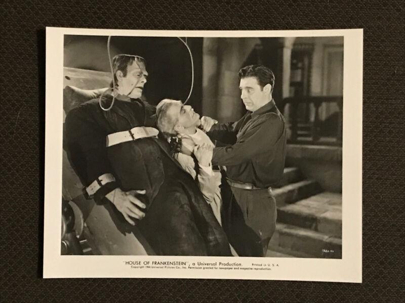 House Of Frankenstein- Reprint  Movie Photo - Karloff - Chaney