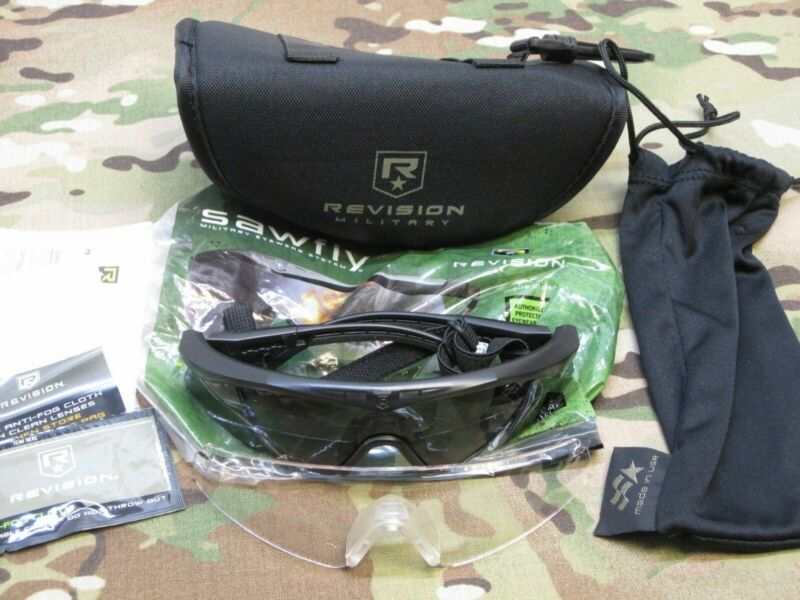 NEW MILITARY EYE PRO REVISION SAWFLY US ARMY SHATTER PROOF SUNGLASSES sz. LARGE