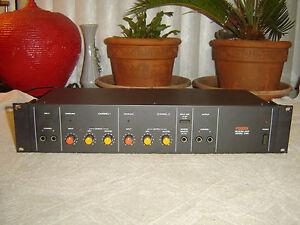 Fostex 3180, Rackmount Version, 2 Channel Spring Reverb, Vintage Rack