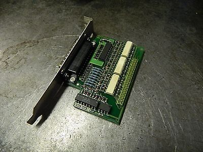Isra Vision Systems Ag  E001 0199 Pc Board  Sps Io Adapter  0500018 1082  Used