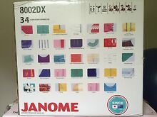 Janome overlocker sewing machine new. 8002DX Model Wooyung Tweed Heads Area Preview