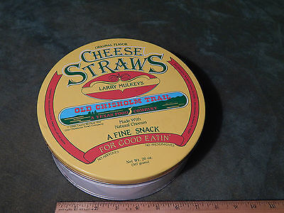 (1986) Cheese Straws *Larry Mulkeys* Old Chisholm Trail (METAL TIN) (Cheese Straws)