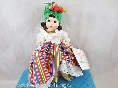 "Vintage Madame Alexander 8"" Doll with Original Box #547 BRAZIL"