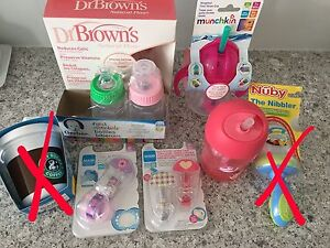 *NEW* Baby bottles and Sippy cups