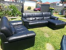 Leather Lounge Set Wallsend Newcastle Area Preview