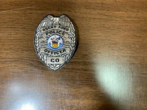 Rocky Ford Police Officer Patch Colorado CO Law Enforcement * NEW *