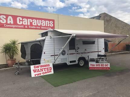 Windsor Rapid Family Pop Top Caravan