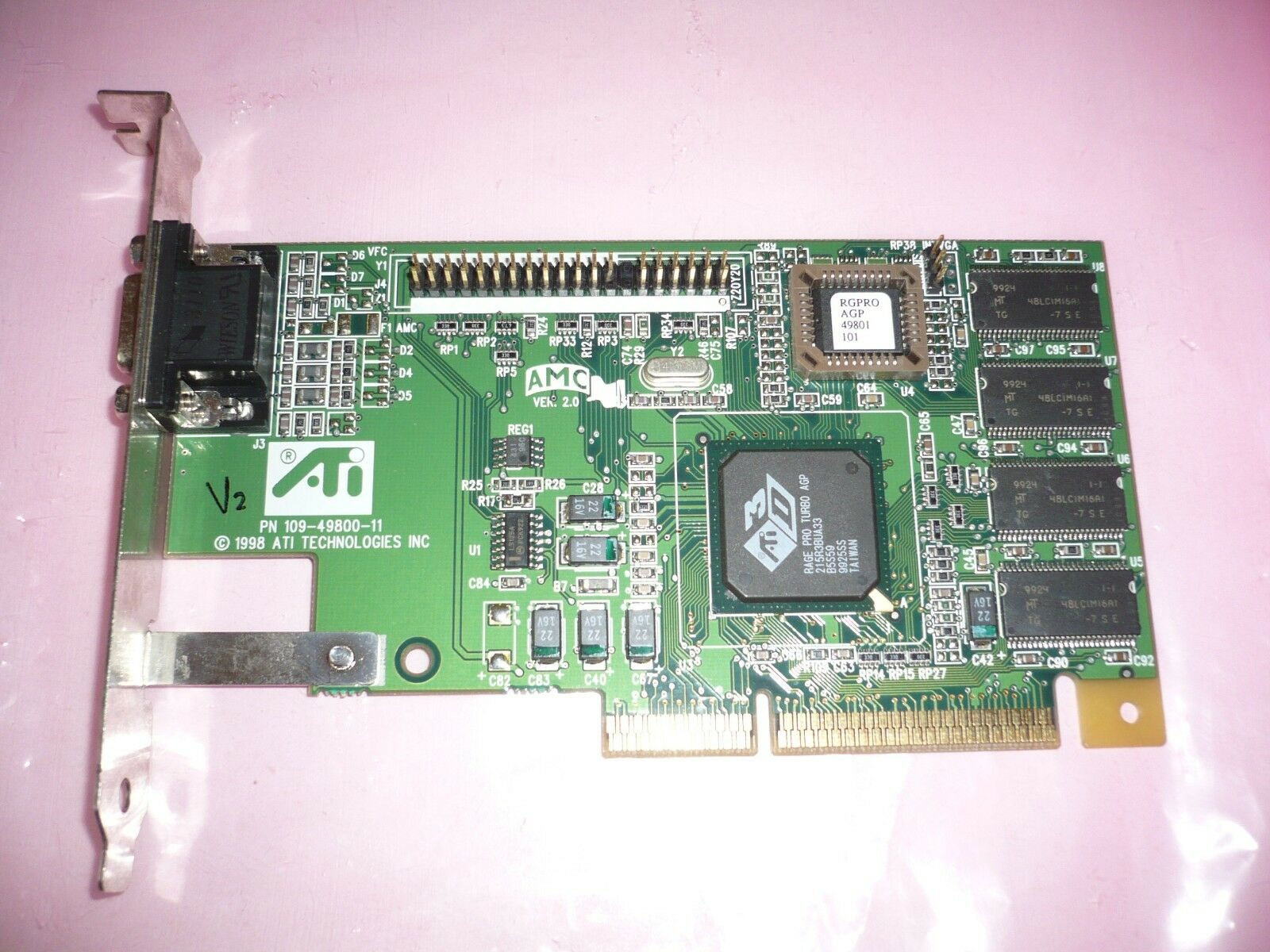 ATI Rage PRO Turbo AGP video card