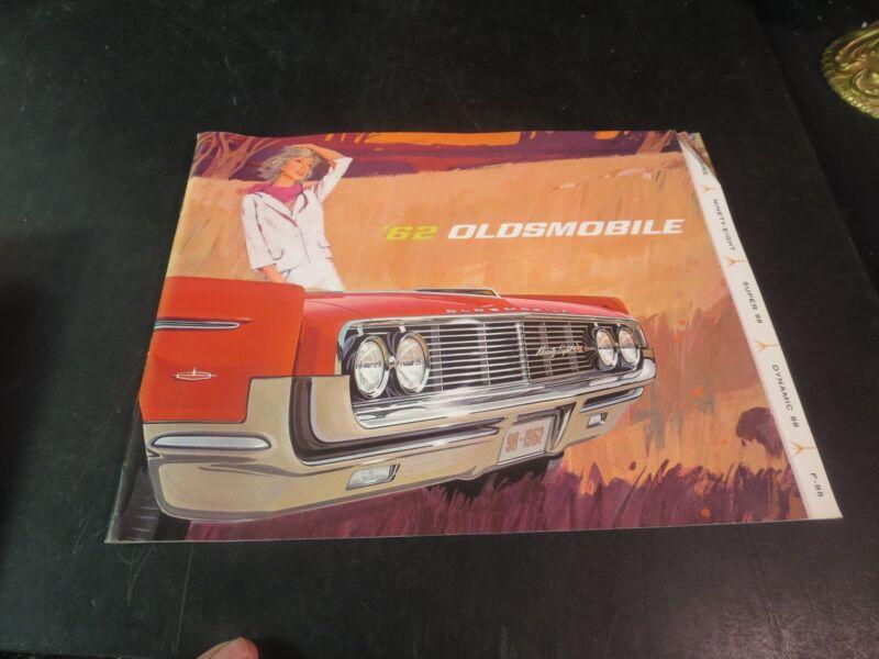 Original 1962 Oldsmobile Sales Brochure
