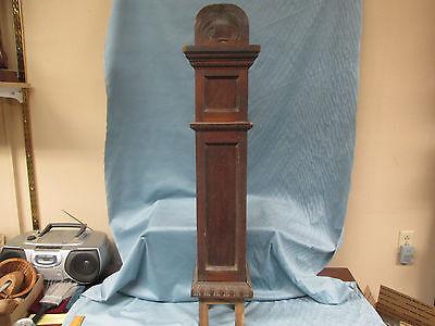 "Antique 42"" Wooden Newel Post Arts & Crafts Era, For Repurpose, Architectural"