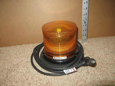 New Whelen L10 Led Beacon Mag Mount 2 Low Dome