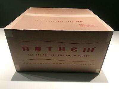Brand New Anthem MCA 225 2-Channel Amplifier *Black* Retail $2200