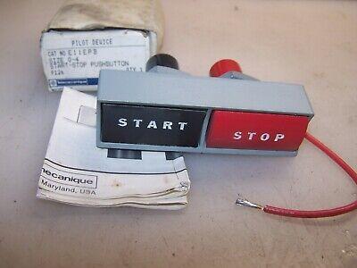 New Telemecanique Size 0-4 Start Stop Push Button E11epb