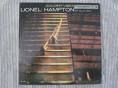 Lionel Hampton   Golden Vibes  Vinyl Record Lp   1959 61 Columbia Records