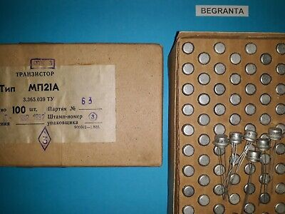 20x Mp21a  Germanium Transistor. P-n-p Ussr