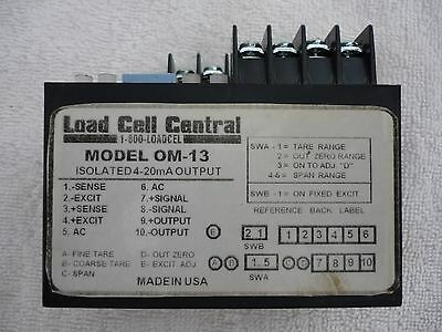 Load Cell Central Om-13 Signal Conditioner