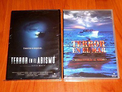 TERROR EN EL MAR / TERROR EN EL ABISMO - Shark Zone...