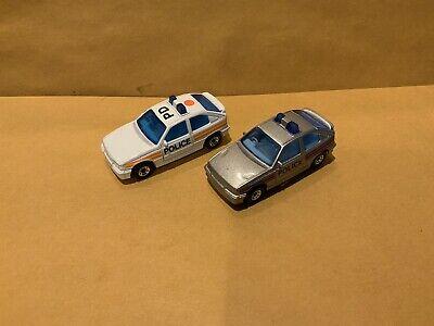 Lot Of 2 Matchbox Superfast No. 8 Vauxhall Astra GTE Opel Kadett Police Cars