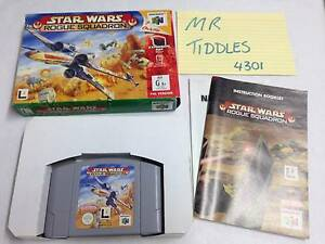 N64 Star Wars Rogue Squadron (boxed) **COMPLETE** Redbank Plains Ipswich City Preview