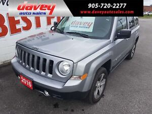 2016 Jeep Patriot Sport/North 4X4, POWER SUNROOF, HEATED LEAT...
