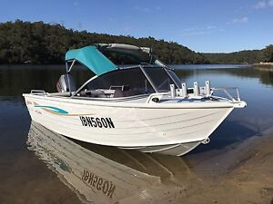 2006 STACER 440 SEA WAY ( EVO HULL ) IN EXCELLENT CONDITION Bankstown Bankstown Area Preview