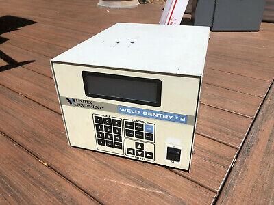 Unitek Miyachi Weld Sentry 2 Model 3-131-02 Weld Monitoring System