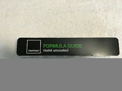 Pantone Formula Guide Solid Uncoated-used