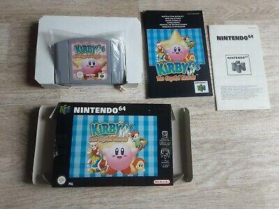 N64 Kirby 64 The Crystal Shards Nintendo 64 OVP