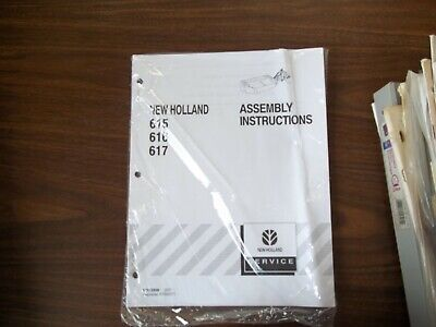 New Holland 615 616 617 Assembly Instructions