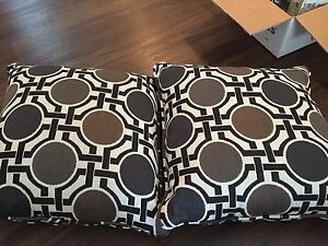 Brand new couch pillows.