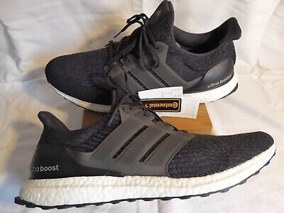 Adidas UK 16 Black Ultra Boost, New in box, super rare in this size, best